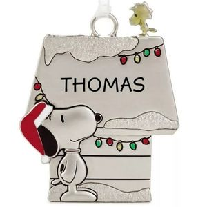 HALLMARK Peanuts THOMAS Snoopy Charm Ornament